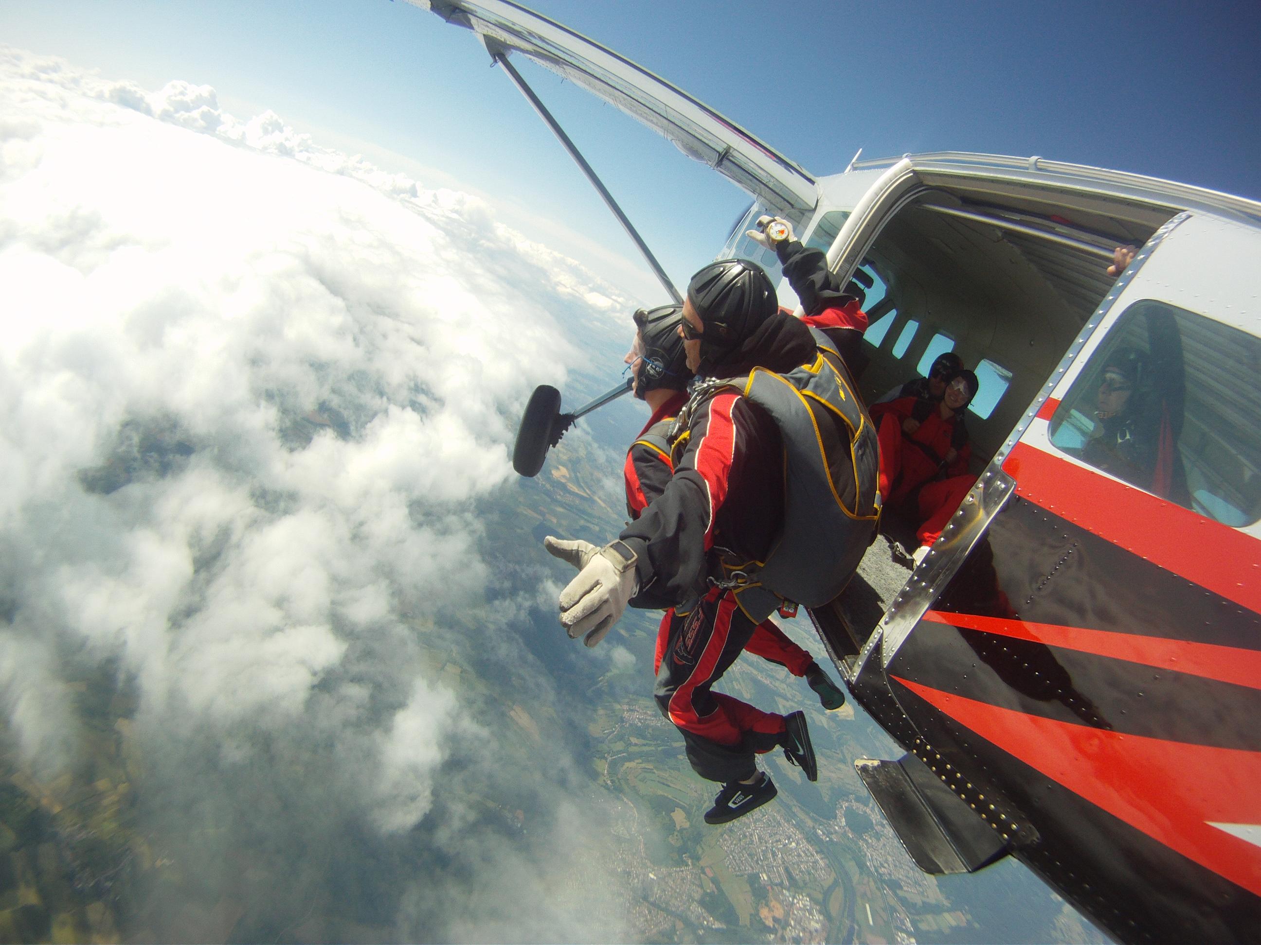 saut en parachute wallerfangen